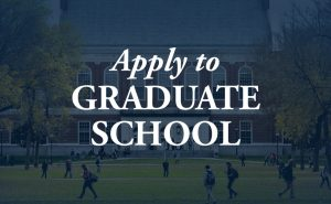 Apply to Graduate School image for button